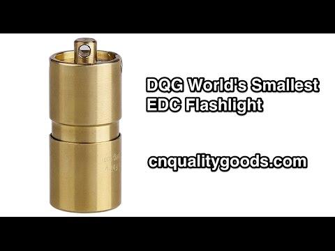feb95c03545 DQG Flashlights World s Smallest EDC - YouTube