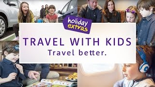 How to TRAVEL with KIDS through the Airport 👶🏻✈️ | Travel Better with Holiday Extras!