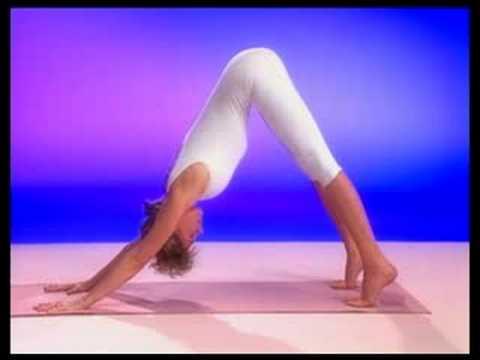 gaiam yoga voor beginners de hond/down dog  youtube