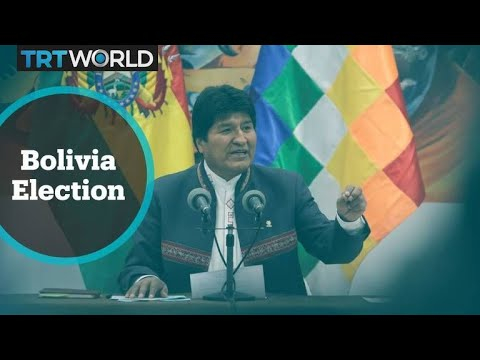Bolivia Election: Morales calls fraud allegations a coup attempt