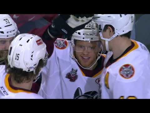 Game Highlights Oct  24. Chicago Wolves vs. Cleveland Monsters