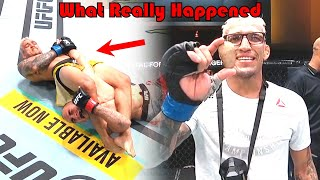 DOMINATION!!! What Really Happened (Tony Ferguson vs Charles Oliveira)