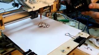 3D-печать шоколадом(Пробная печать шоколадной пастой. Подробности проекта на www.diylife.ru Место действия: хакспейс makeitlab.ru., 2014-01-26T21:33:14.000Z)