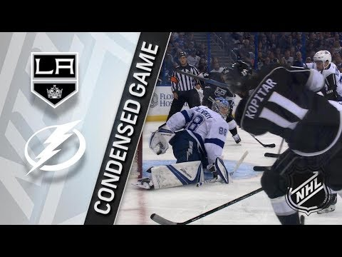 Los Angeles Kings vs Tampa Bay Lightning – Feb. 10, 2018 | Game Highlights | NHL 2017/18. Обзор