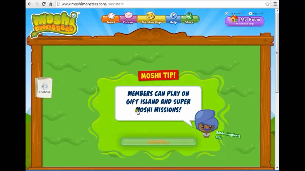 Why Become a Moshi Member?Parents Learn More. The basic version of Moshi Monsters is free (sign-up here) but Members get exclusive access to all sorts of cool extras.