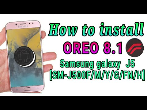 How To Flash Oreo8.1 In Samsung Galaxy J5 LTE RR6.0 [SM-J500F/H/FN/Y/G] || Fixed Twrp Error 7