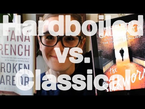Classical vs. Hardboiled Detective Fiction
