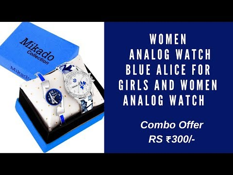 Mikado Blue Alice New Analog Watches Combo For Girls And Women Analog Watch Price Rs 299/- Onliy