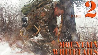 Recurve Bow hunting Whitetail deer with primitive bow Part 2