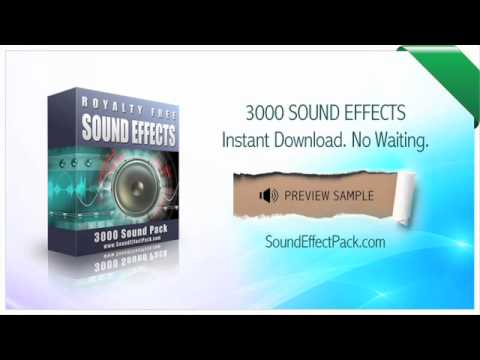 3000 Sound Effect Pack Zip Free Download - softisomatic