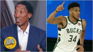 Scottie Pippen reveals how he would defend Giannis' spin-move dunk | The Jump