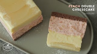 복숭아 더블 치즈케이크 만들기 : Peach Doubl…