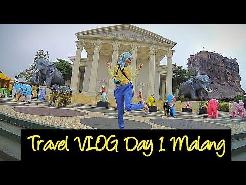 Travel VLOG Day 1 Malang | Jatim Park 2 | Batu Secret Zoo | Homestay Griya Sumber Rejeki