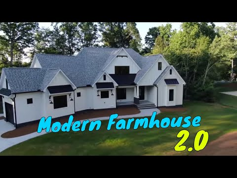 Modern Farmhouse 2.0 Walk-through / Mike Palmer Homes Inc. Denver NC Home Builder