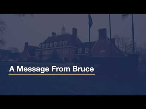 Support Programs For Our Members: A Message From Our President & CEO, Bruce Foulke
