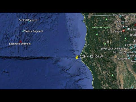 4.6 Earthquake Offshore California