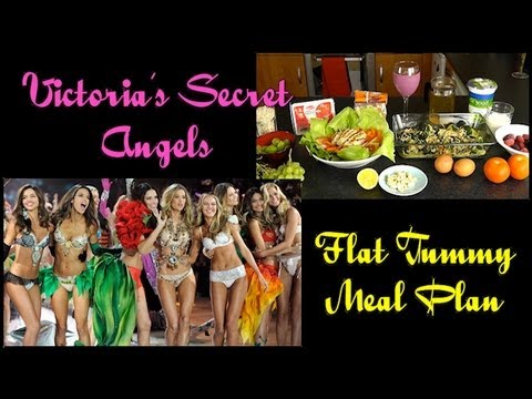 victorias secret angels diet menu