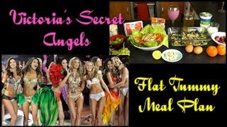 Victoria's Secret Angels Flat Tummy Meal Plan (1200 Calorie)