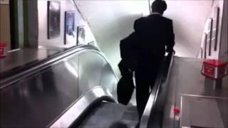 10 смешных эскалатор провалится