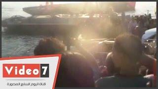 بالفيديو.. مقتل 15 في غرق عبّارة بنيل القاهرة بمصر