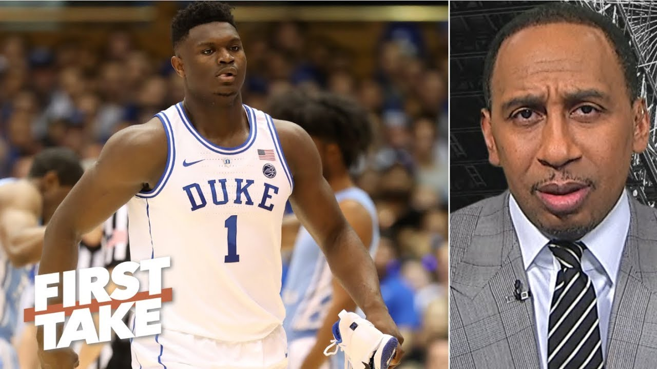 No way a healthy Zion should quit the season to prepare for the NBA Draft – Stephen A.   First Take