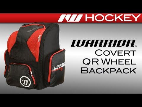 Warrior Covert QR Wheel Hockey Backpack Review