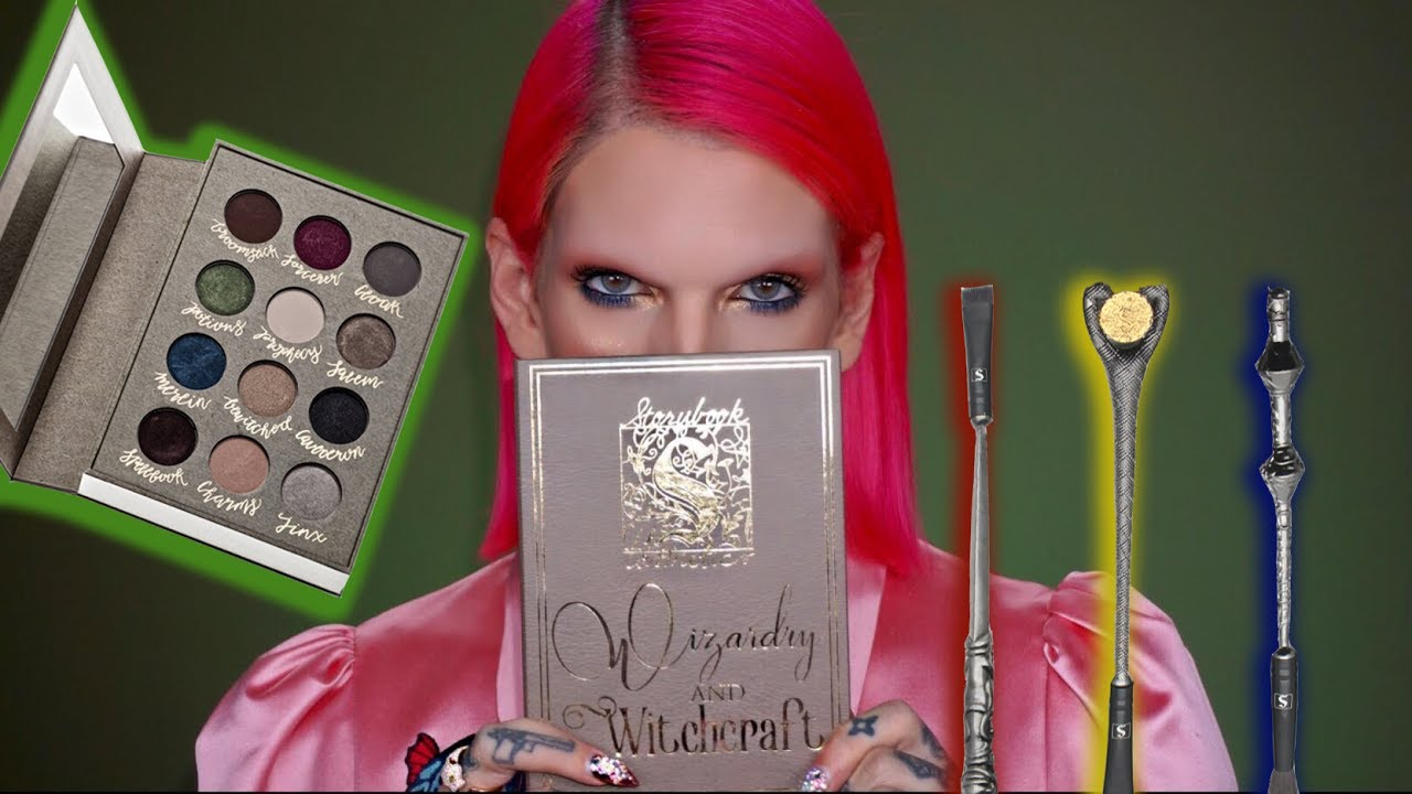 HARRY POTTER EYESHADOW PALETTE | Is It Jeffree Star Approved??