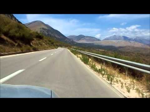 Matt Monro - On days like these. Road from Sarande to Himare.