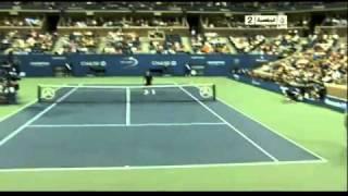 Потрясающая игра Роджера Федерера