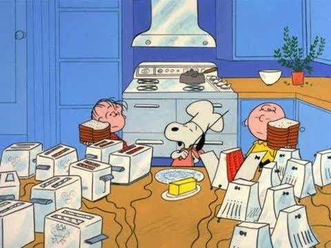 A Charlie Brown Thanksgiving - Food