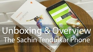 Sachin Tendulkar SRT Smartphone By Smartron Unboxing & Overview