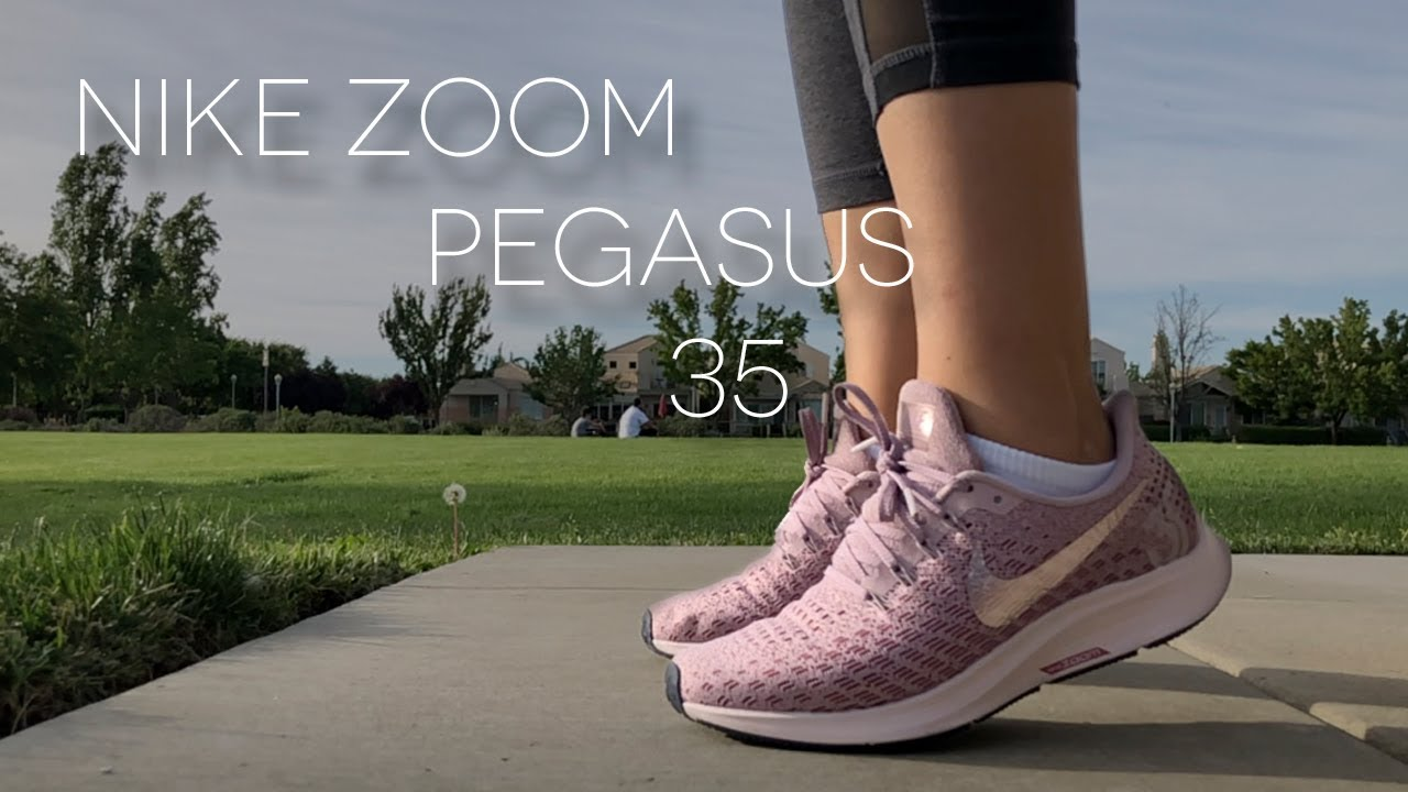 best sneakers 421d6 1688c NIKE ZOOM PEGASUS 35 - YouTube