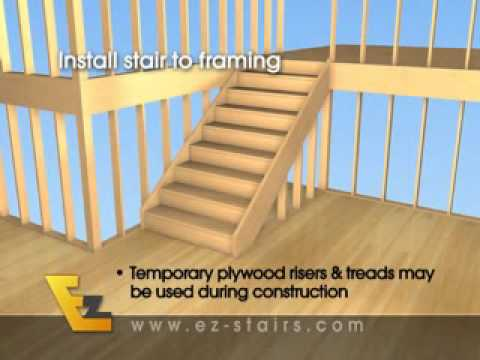 Great Build Quality Finished Interior Stairs / Basement Stairs Quickly And  Easily.   YouTube Good Looking