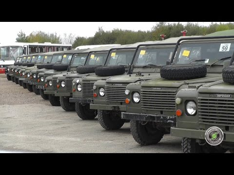 Military Auction - Witham SV  October 2014