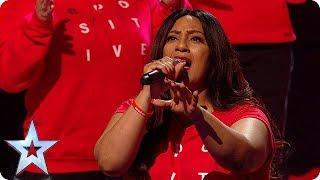 WOW! B Positive Choir put on the GREATEST show! | Semi-Finals | BGT 2018