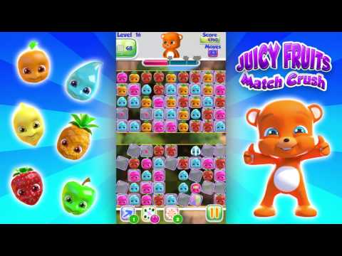 Juicy Fruits Match 3 Crush