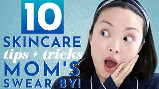 10 Skincare Tips We Learned From Our Moms!