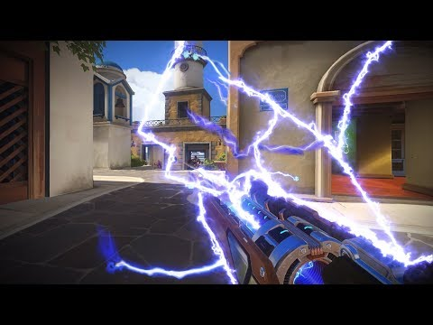This Is What The Rank 1 Winston Looks Like - Overwatch Montage