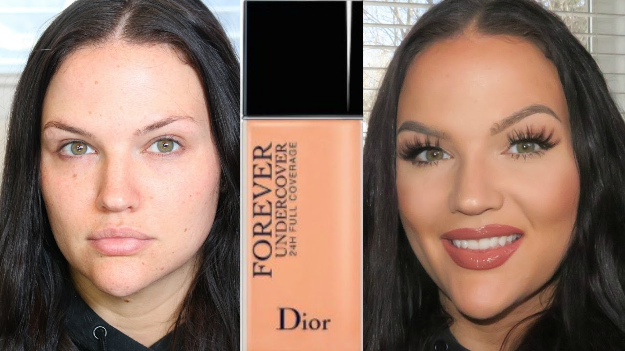 NEW Dior Forever Undercover Foundation Review, Demo + Wear Test ...