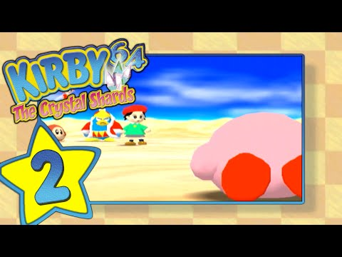 Kirby 64: The Crystal Shards (N64) - [Level 2: Rock Star]