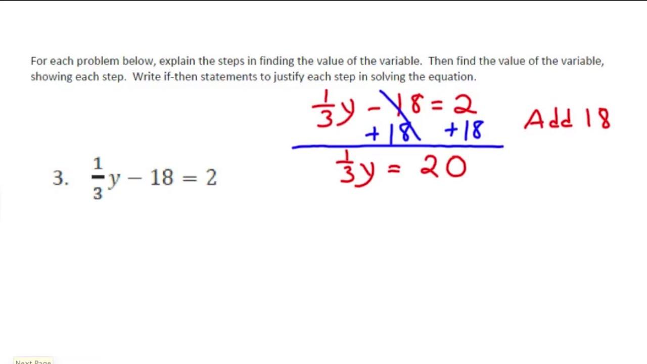 Grade 7 Module 2 Lesson 22
