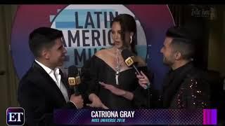 Viral Video ng Interview ni Catriona Gray sa Latin America | Panuoring