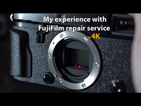 My Experience With FujiFilm Canada Repair Service - In 4K