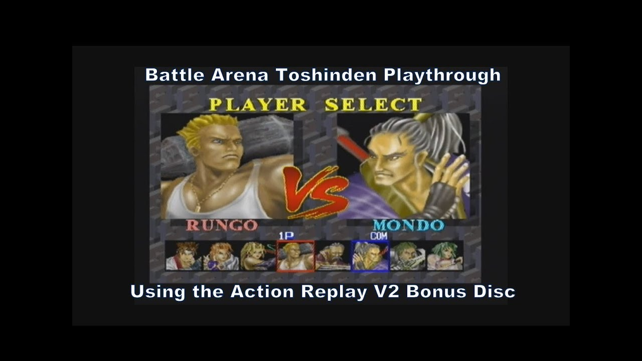 Battle Arena Toshinden 1 Rungo Playthrough With No Cheats On The