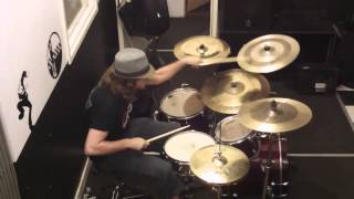 Tim Wilson at Black Rose Studios   D Series hihats, Tigris ride, Galata crash, D Rock crash