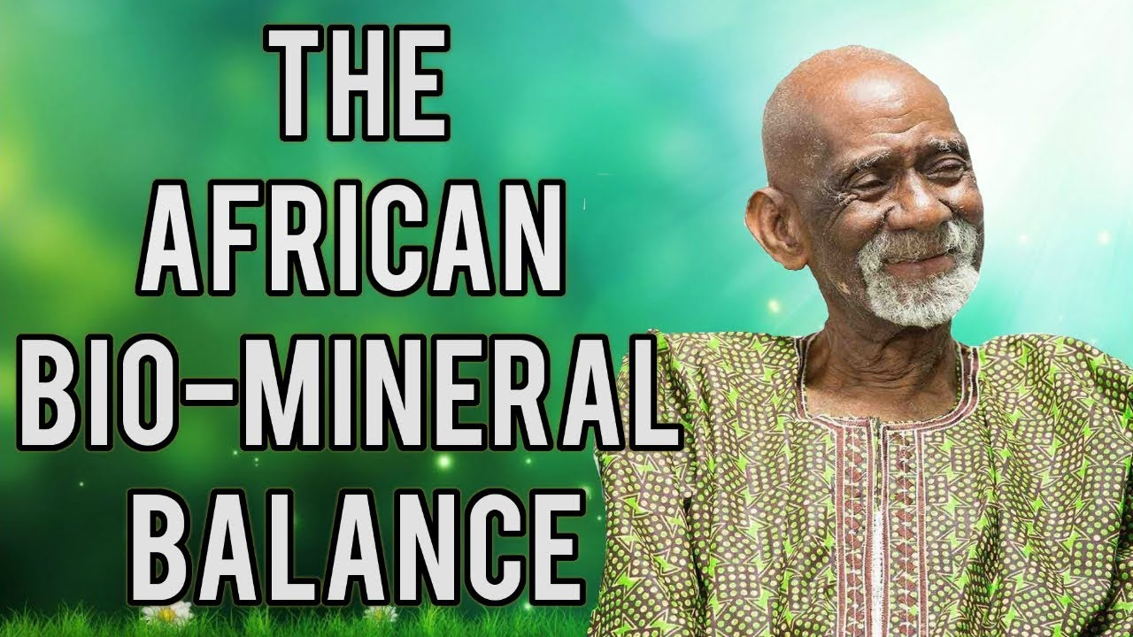Dr Sebi Reveals The African Bio Mineral Balance Healing Method