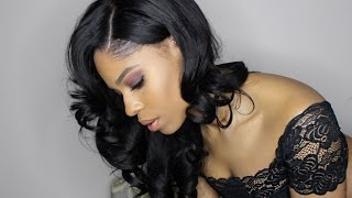 How to Customize a Frontal When your Hairline Touches your Eyebrows | West Kiss Hair Review
