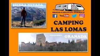 CAMPING LAS LOMAS en Güéjar Sierra - SIERRA NEVADA - GRANADA