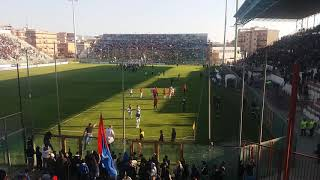 Reggina-Catania 3-0 fine gara