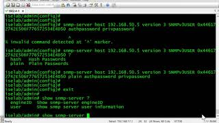 Configuring SNMPv3 for Cisco ISE